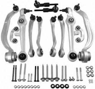 Sada ramen přední nápravy Meyle HD, Škoda, Audi, VW, Seat, 4F0498530 Průměr čepu 16,5 mm