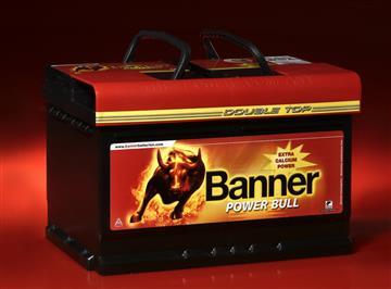 Banner Power Bull 60Ah 540A, autobaterie 60Ah 540A