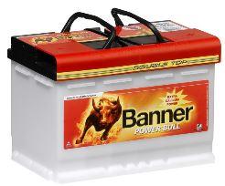 Banner Power Bull Pro 63Ah 600A, autobaterie 63Ah 600A