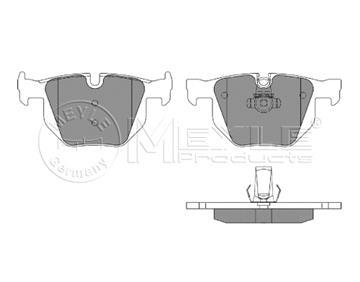 Brzdové desky zadní, Bmw E60, E61, E63, E64
