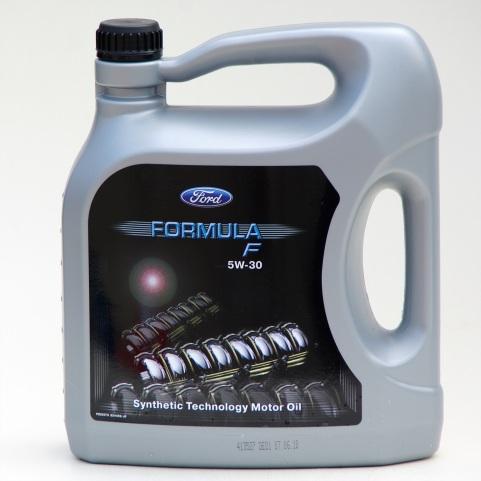 Motorový olej Ford Formula F 5W-30, 5l vysoce výkonný syntetický motorový olej 5W-30