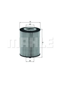 Olejový filtr Bmw 645ci, 735i, 745i, X5 4.4i, 4.8i