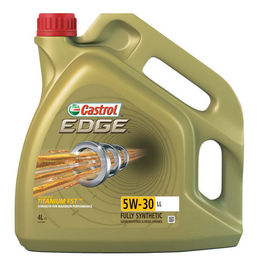 Castrol EDGE Titanium FST 5w30 4L Motorový olej syntetický 4L