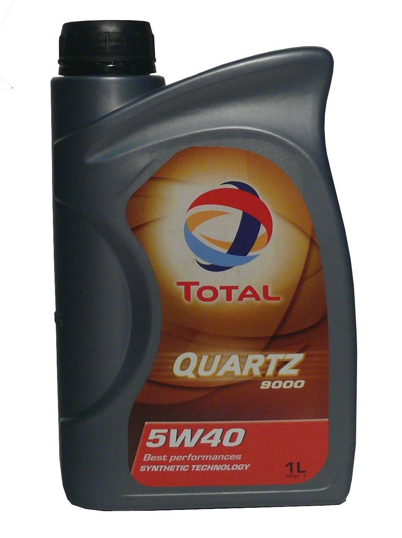 Total Quartz 9000 5W-40 1L syntetický motorový olej 1L