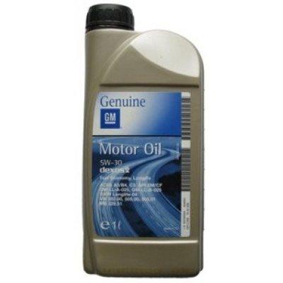 Motorový olej Opel GM Dexos 2 5W-30, 1L