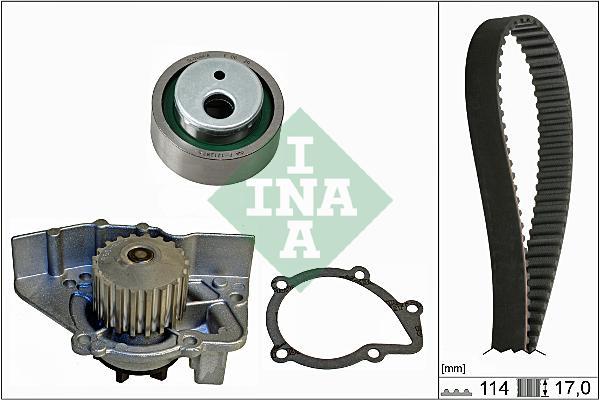 Rozvody, vodní pumpa Peugeot 405 1.6 55kW, Expert 1.8 74kW včetně vodního čerpadla