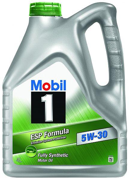 Mobil 1 ESP Formula 5W-30, 5L motorový olej syntetický 5L