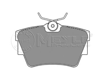 Zadní brzdové desky Renault Traffic, Primastar, Opel Vivaro