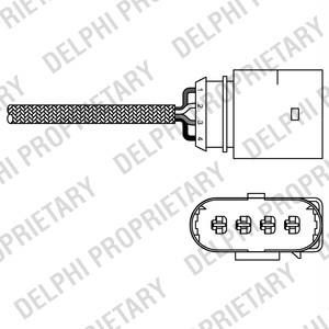 Lambda sonda za katalyzátor, 1.2 Fabia, Ibiza, 03C906262