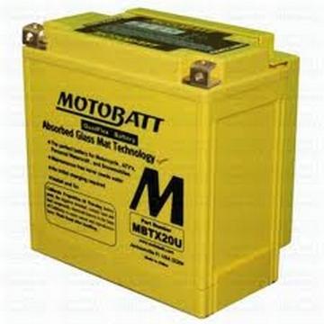 Motobaterie 12v 21Ah 280A