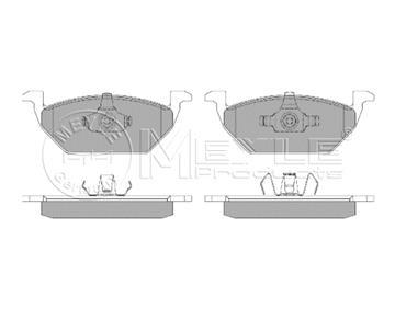 Brzdové desky přední Octavia, Fabia, Roomster, 6R0698151, 1J0698151