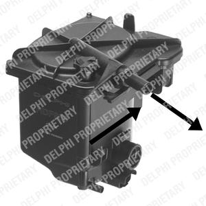 Palivový filtr 1.6 HDI, 1.4 HDI, 1.6 TDCI, DI, Mini, Citroen, Peugeot, Ford