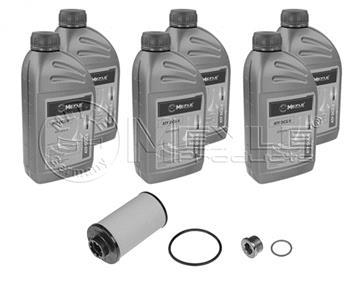 Kit na výměnu oleje v DSG převodovce, Superb, Octavia, Leon, Altea, Golf, Eos 6ti rychlostní DQ250, 02E, 0D9