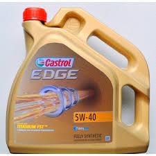 Castrol EDGE TD Titanium FST 5w40 4L Plně syntetický motorový olej 4L