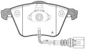 Brzdové desky přední Superb II, Eos, Golf V, Leon 1K0698151E, 3C0698151D pro kotouč 312mm