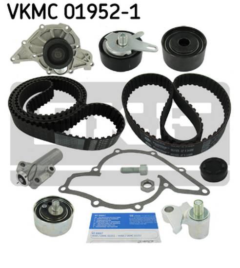 Rozvodová sada, vodní pumpa Audi, Superb, Passat 2.5 TDI 110kw, 132kw kompletní sada s tlumičem vibrací