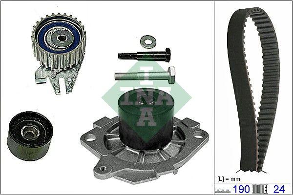 Rozvodová sada, vodní pumpa 1.9 JTD, Alfa Romeo, Fiat Marea, Doblo, Bravo