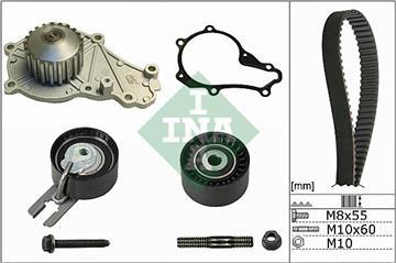 Rozvodová sada, vodní pumpa 1.4HDI Peugeot Bipper, 307, 207, 206, Citroen 1.4HDI