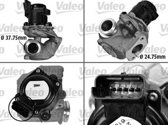 EGR ventil Fiesta, Fusion 1,4 TDCI, Citroen, Peugeot 1.4 HDi, 1682736