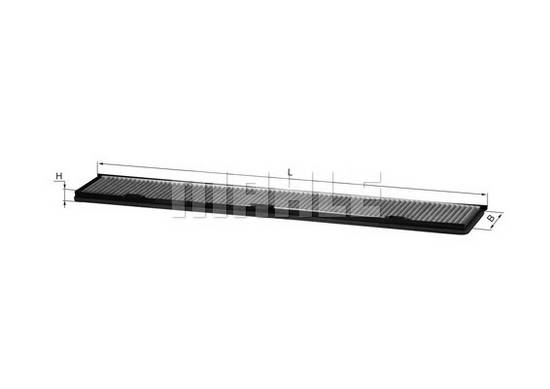 Kabinový filtr s aktivním uhlím Bmw E90, E91, E92, E87, E88, E81, 64316962553