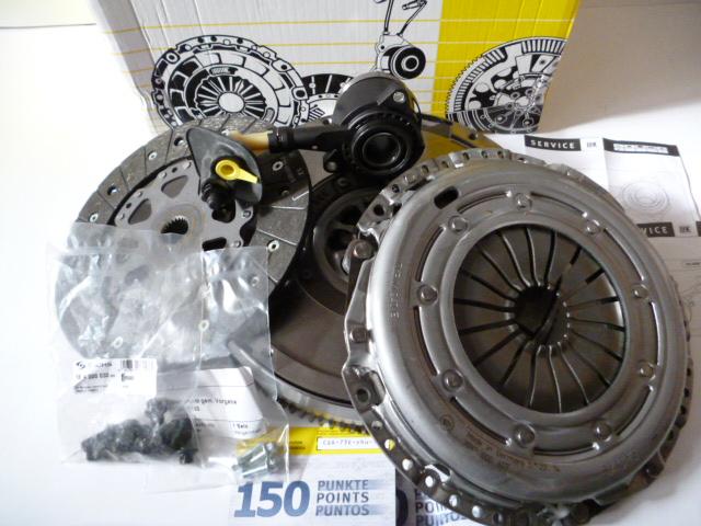 Spojka, dvouhmotový setrvačník Ford Focus C-Max, Focus 2.0 TDCI, Volvo 2.0D konstrukční rok do 09/2005