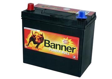 Banner Power Bull 45Ah 360A L+ kontakt, baterie levý kontakt plus