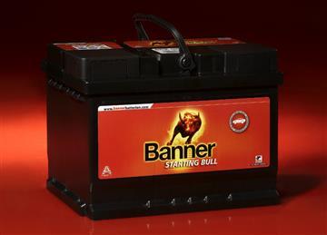 Banner Power Bull 55Ah 450A, autobaterie 55Ah 450A