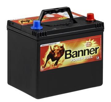 Banner Power Bull 60Ah 48A P+ kontakt, autobaterie pravá