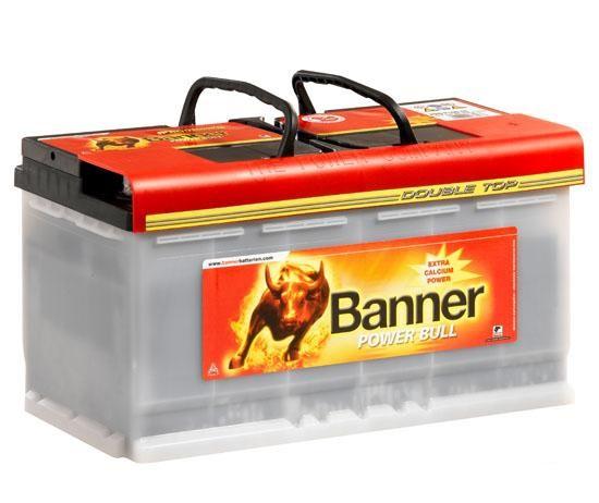 Banner Power Bull Pro 100Ah 800A, autobaterie 100Ah 800A