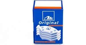 Brzdové desky přední ATE Bmw E90, E91, X1, 34116780711