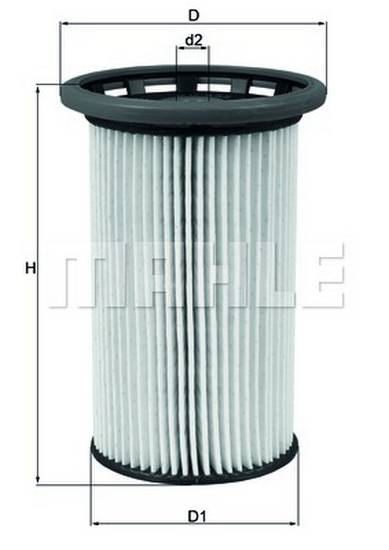 Palivový filtr Mahle 2.0 Tdi, 7N0127177, 7N0127177B