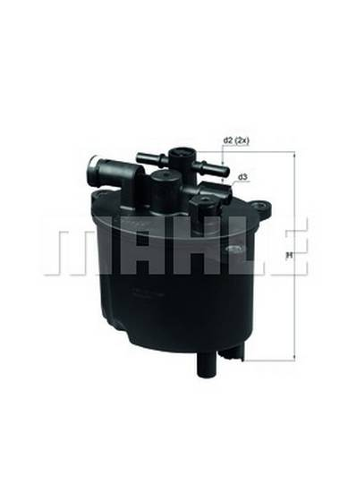 Palivový filtr Citroen 2.2 HDI, Ford 2.2 TDCI, Peugeot 2.2 HDI, 9800032780