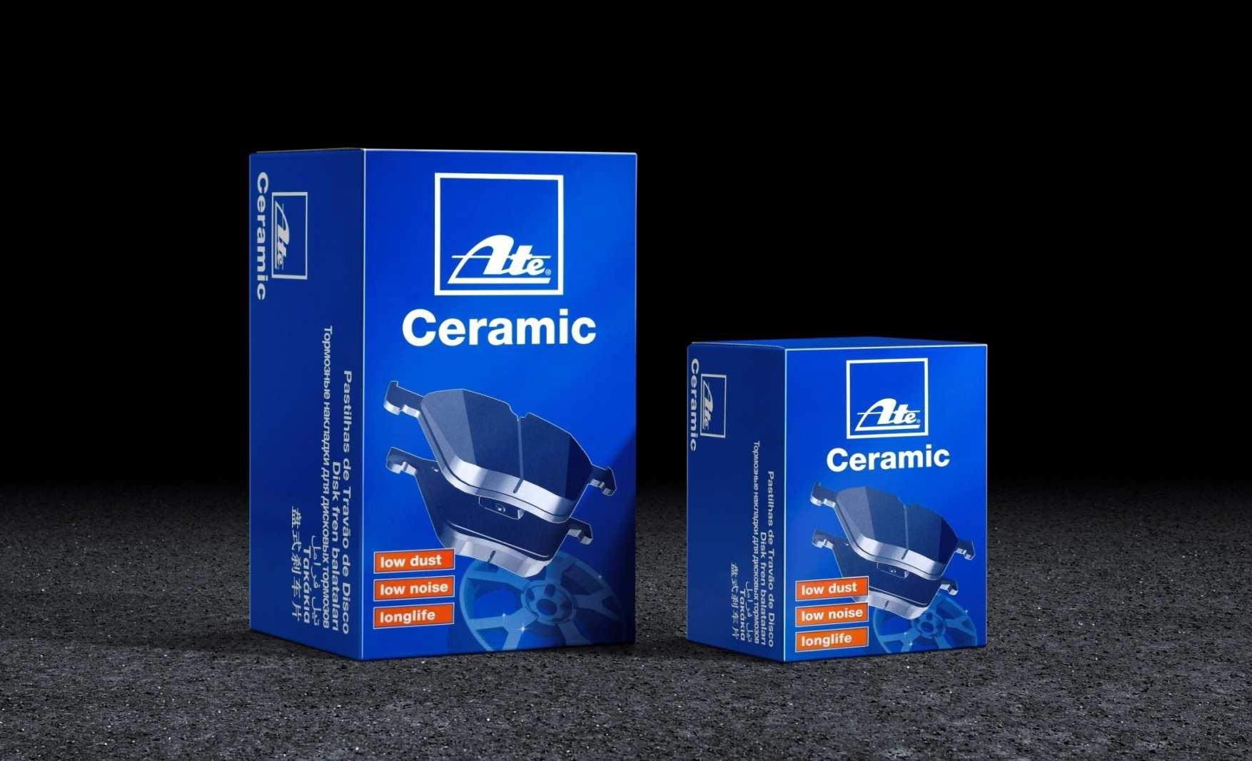 Keramické brzdové desky přední ATE Ford S-MAX, Galaxy 2.2 TDCI, 2.0 SCTI