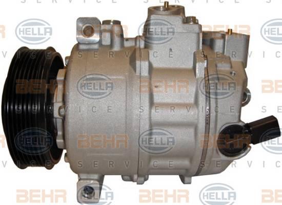 Kompresor klimatizace Hella 1K0820803E, 1K0820859S