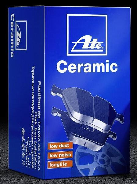 Brzdové desky ATE Ceramic přední 288mm, Fabia, Cordoba, Ibiza, 6Q0698151C pro kotouč 288 mm