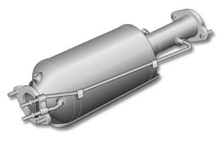 DPF filtr pevných částic Volvo 2.0D V50, Ford Focus, C-Max 2.0 TDCI