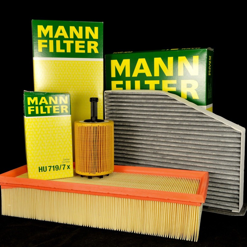 Sada filtrů MANN VW, Audi, Seat, Škoda 1.9 TDI, 2.0 TDI, 1.6 TDI inspekční kit