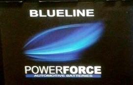 Autobaterie Powerforce 55 Ah 460A 12v Rozměr 242x175x190