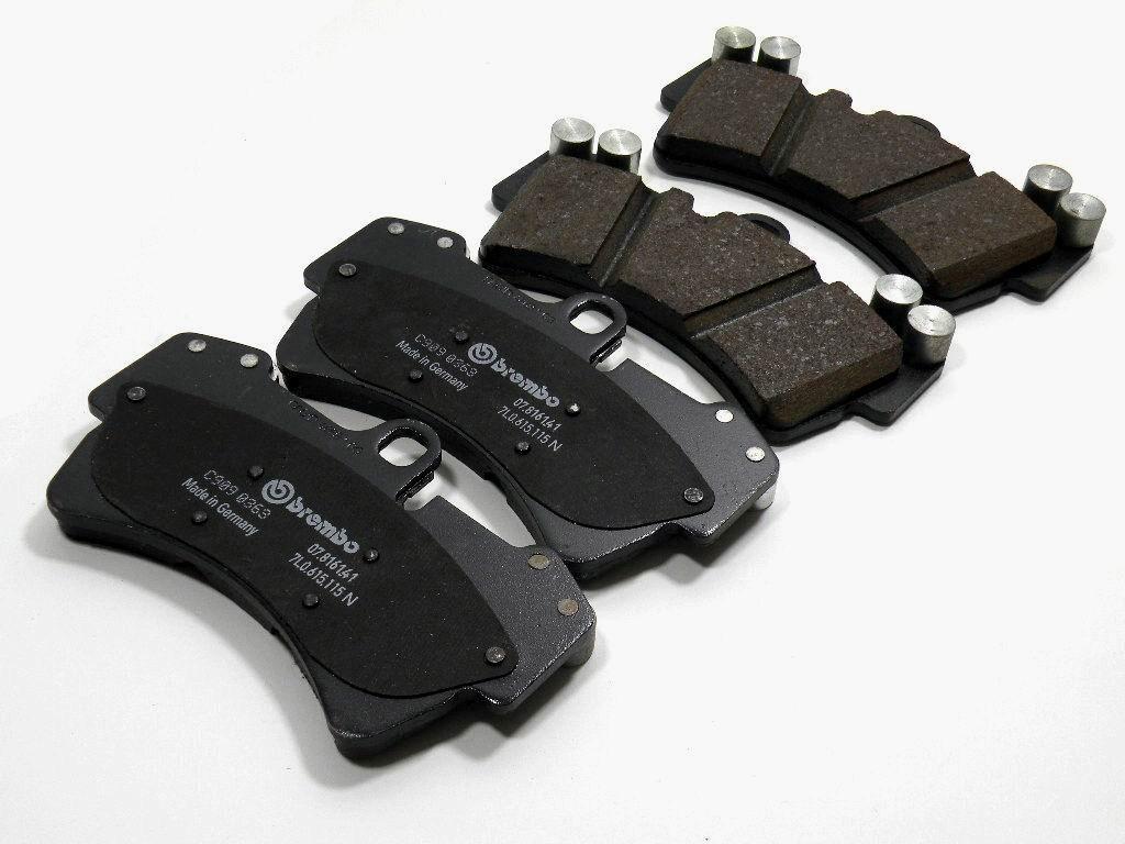 Přední brzdové desky VW Touareg, Audi Q7, Cayenne 955 Turbo, 7L0698151J