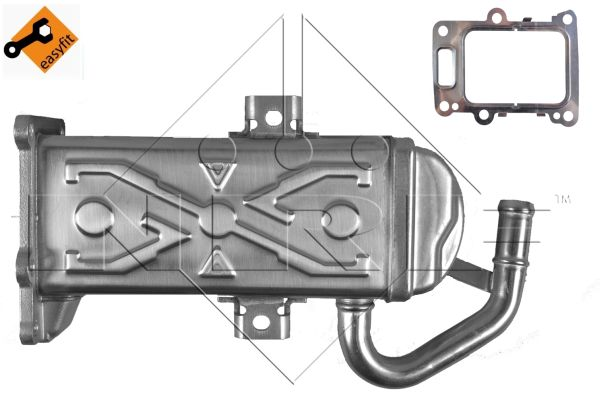 Chladič recirkulace spalin Octavia 1.6 TDI, 2.0 TDI, 03L131512
