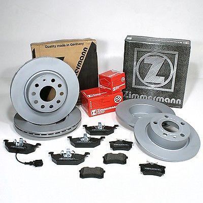Brzdové kotouče 288 mm, desky Zimmermann Octavia, Fabia, Audi A3, Seat Leon pro kotouč 288 mm + 230 mm