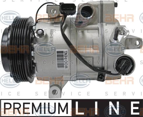 Kompresor klimatizace Hyundai ix35, Kia Sportage, autodíly Kia, Hyundai