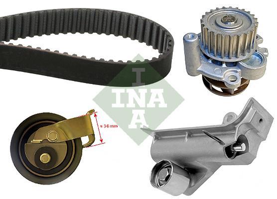 Rozvodová sada, rozvody INA 1.8 92kw, 4 motion, 1.8 Turbo