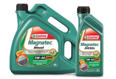 Castrol Magnatec Diesel DPF 5W40 1L Plně syntetický motorový olej 1L