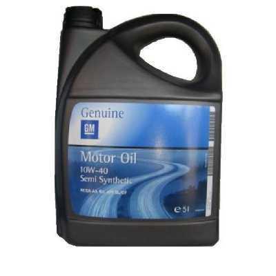 Motorový olej Opel GM 10W-40 5l polosyntetický motorový olej, 5l