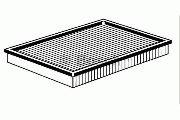 Vzduchový filtr 1.4, 1.6, 1.8, 1.8T, 1.9Tdi, 2.3, 2.8 Bosch