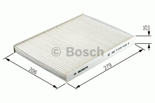 Kabinový filtr 1.4, 1.6, 1.8, 1.8T, 1.9tdi, 2.0, Rs Bosch