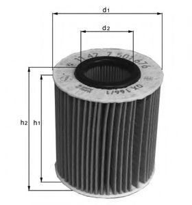 Olejový filtr MANN 1.9 TDI, SDI, 2.0 TDI MANN