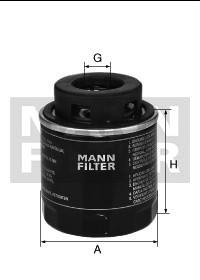 Olejový filtr 1.4 TSI Fabia, Ibiza, A3, Golf, Eos Mann