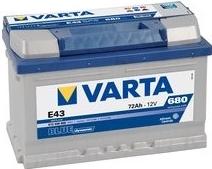 Varta Blue Dynamic 72 Ah